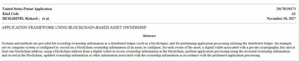 Nasdaq Blockchain ile İlgili Patent Başvurusunda Bulundu